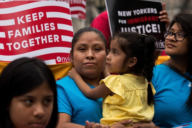 Activists Rally For Immigration Reform In Wake Of Supreme Court Decision