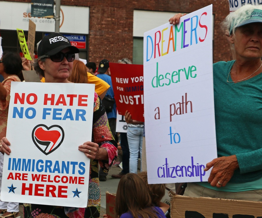 DACA Rally - Kingston NY.